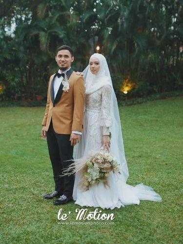 Inspirasi Gaun Pengantin Muslimah Dari Artis Hingga